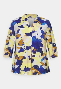 MY TRUE ME TOM TAILOR - BLOUSE WITH OPEN COLLAR - Bluse - multi-coloured