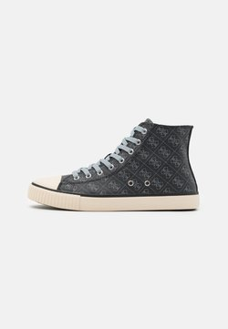 Guess - EDERLE  - Sneaker high - black/grey