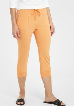 b.young - PANDINA CAPRI - Jogginghose - sunset orange