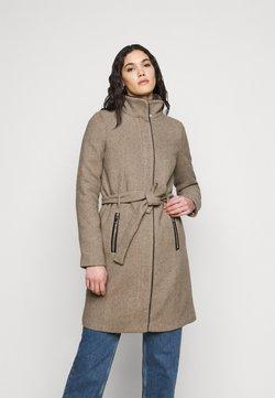 Vero Moda Tall - VMCLASSBESSY - Halflange jas - sepia tint