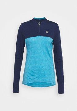 Triple2 - WOMEN - Tekninen urheilupaita - mykonos blue