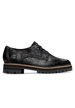Timberland - LONDON SQUARE OXFORD - Sznurowane obuwie sportowe - black leather