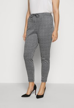 Zizzi - MADDISON CROPPED PANT - Pantalon classique - black