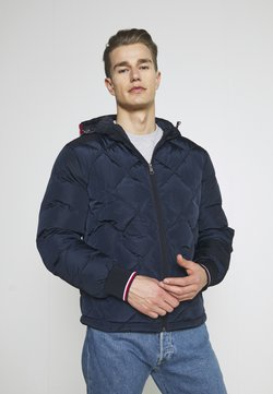 Tommy Hilfiger - DIAMOND QUILTED - Winterjacke - desert sky