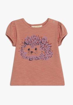 Soft Gallery - FRANNIE HEDGY - T-shirt print - tawny orange