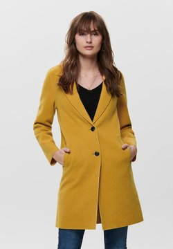 ONLY - ONLCARRIE BONDED COAT  - Cappotto classico - golden yellow