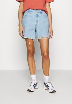 Levi's® - 501® MID THIGH - Denim shorts - light blue denim