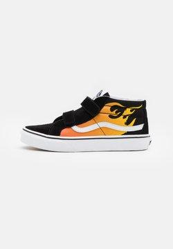 Vans - SK8-MID REISSUE  - Sneakers alte - black/true white