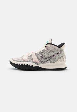 Nike Performance - KYRIE 7 SEASONAL - Chaussures de basket - pale ivory/chlorine blue/black/arctic punch/laser orange/barely volt