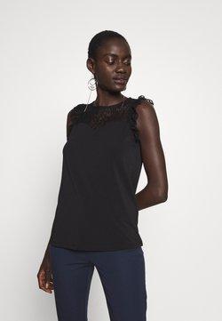 Vero Moda Tall - VMALBERTA SWEETHEART - Top - black