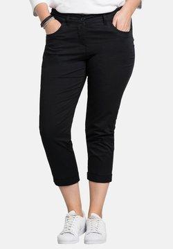 Sheego - Pantalon classique - black