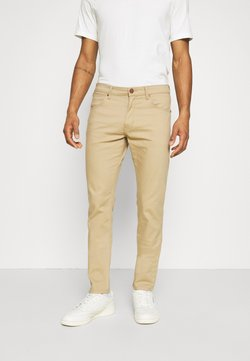Wrangler - LARSTON - Slim fit jeans - cornstalk