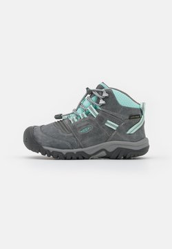 Keen - RIDGE FLEX MID WP UNISEX - Hikingskor - grey/blue tint