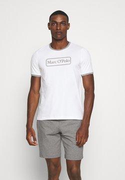 Marc O'Polo - LOUNGESET CREW NECK - Pyjama - white