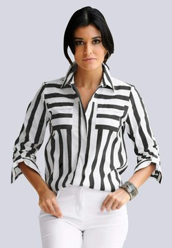Alba Moda - Hemdbluse - schwarz weiß