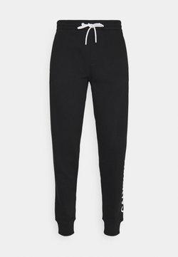 Calvin Klein Jeans - VERTICAL LOGO PANT - Jogginghose - black