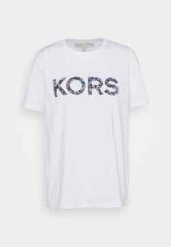MICHAEL Michael Kors - LOGO - T-Shirt print - white
