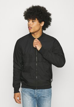 G-Star - MIXED BASEBALL ZIP THROUGH - Giubbotto Bomber - black
