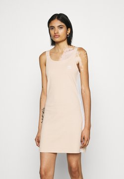 adidas Originals - RACER DRESS - Vestido ligero - halo blush