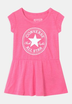 Converse - PRINTED COVER SET - Jerseykleid - pink glow