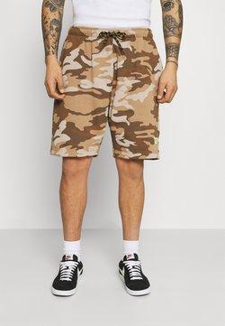 Caterpillar - BASIC  - Shorts - brown