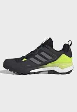 adidas Performance - TERREX SKYCHASER 2 - Hikingschuh - core black/ftwr white/solar yellow