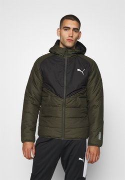 Puma - WARMCELL PADDED JACKET - Talvitakki - forest night