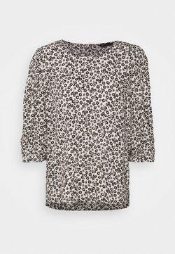 Marks & Spencer London - SCOOP NECK - Bluse - white