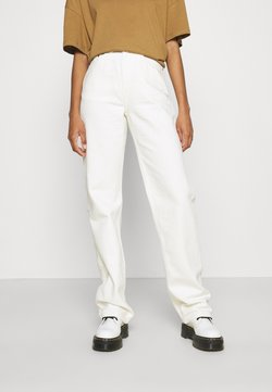 Weekday - ROWE  - Relaxed fit -farkut - white