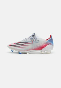 adidas Performance - X GHOSTED.1 FG - Chaussures de foot à crampons - silver metallic/core black/scarlet