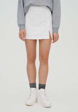 PULL&BEAR - Jupe trapèze - white