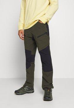 Icepeak - BREWER - Pantalones montañeros largos - dark green