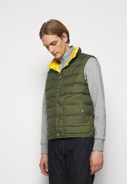 Polo Ralph Lauren - DENVER VEST - Weste - dark sage/slicker yellow