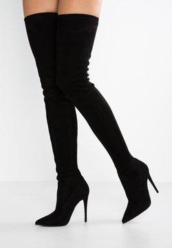 Steve Madden - DOMINIQUE - High Heel Stiefel - black