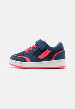 Kickers - BISCKUIT - Sneaker low - marine/rose