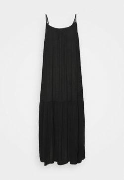 Marks & Spencer London - SLIP MIDI - Sukienka letnia - black