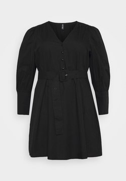Pieces Curve - PCSEBORAH DRESS - Korte jurk - black