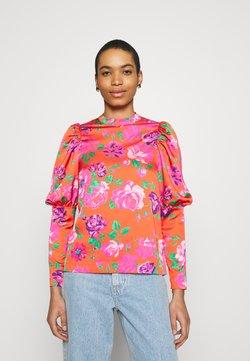Cras - MILLACRAS BLOUSE - Langarmshirt - pink