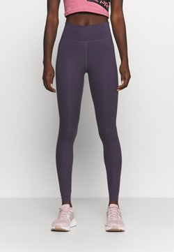 Nike Performance - ONE LUXE - Tights - dark raisin