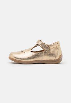 Froddo - GIGI - Ballerinat nilkkaremmillä - gold