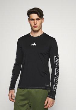 adidas Performance - HYPE TEE - Funktionsshirt - black