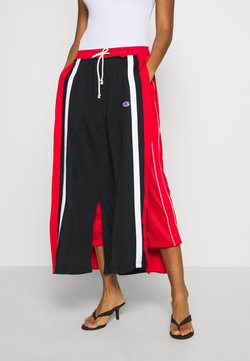 Champion Reverse Weave - WIDE LEG PANTS - Jogginghose - black