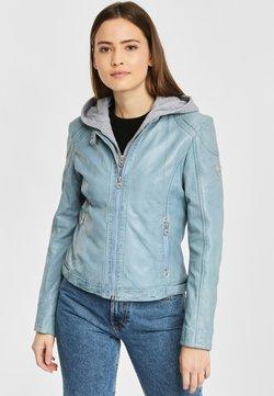Gipsy - AELLY LAMAS - Leren jas - light blue