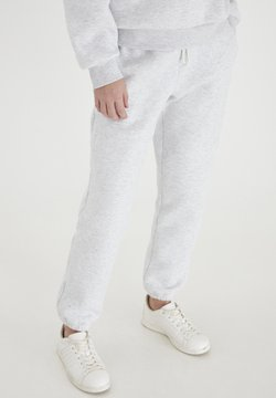 ICHI - Jogginghose - light grey melange