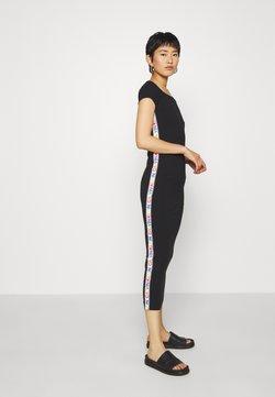 Calvin Klein - MIDI LENGTH BARDOT PRIDE DRESS - Etuikleid - black