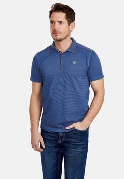 LERROS - MIT FEINEN QUERSTREIFEN - Poloshirt - cornflower blue