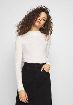 Esprit Petite - MOCKNECK SWEATR - Jersey de punto - off white