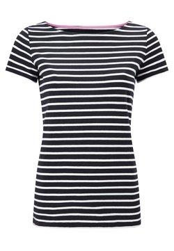 Boden - BRETON - T-Shirt print - navy/naturweiß