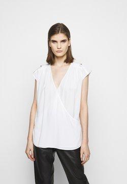 LIU JO - INCROCIATO - T-shirt con stampa - star white