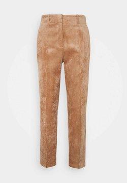 comma - Pantalon classique - chocolate